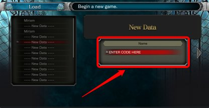 Input Cheat Codes Into File Name