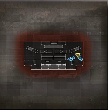 Station Map Layout