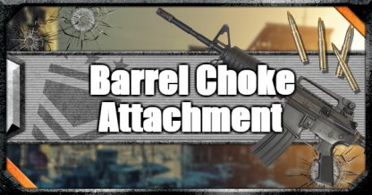 Call of Duty Black Ops IV Weapon Attachments Barrel Choke