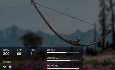 Far Cry New Dawn Treebranch Bow