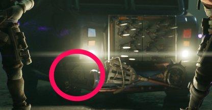 Clue to Secret Battle Star Location on Truck