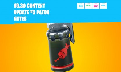 v9.30 Content Update # 3 - Patch  Notes Overview