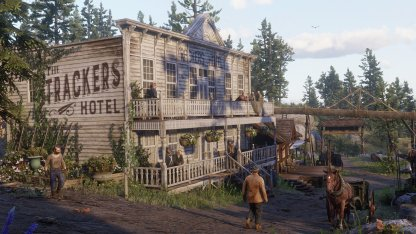 Venture the Wild West in an Photo-realistic Open World Environment