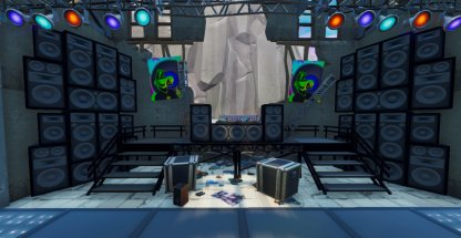 DJ Booth in Dance Club Challenge Close Up