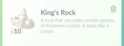 Pokemon Go, King