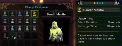 Bandit Mantle