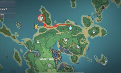 Takashi Map Location