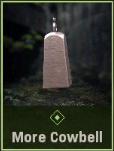 More Cowbell Charm