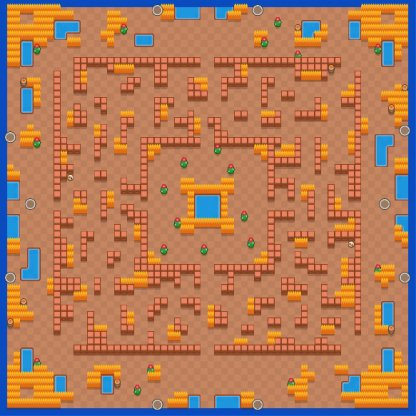 Showdown (Solo / Duo) Mode - Guide & Tips Map Hot Maze