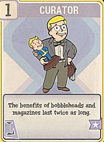 Fallout 76 Perk Card Luck Curator