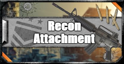 Call of Duty Black Ops IV Weapon Attachments Recon