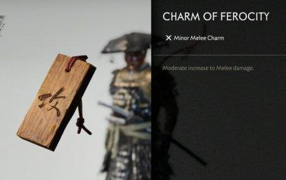 Receive Charm Of Ferocity