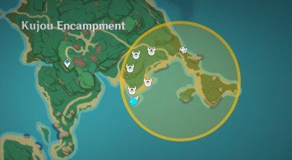 Treasure Area 13 - Iron Coin Locations