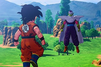 Battle Piccolo As Gohan