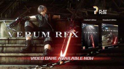 Character of VERUM REX Mini Game