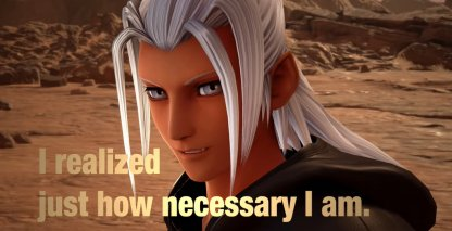 Master Of Masters Speaks With Young Xehanort