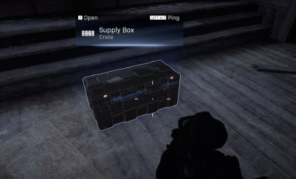 Leatherface House single supply crate