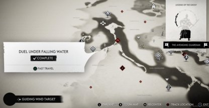 Duel Under Falling Water
