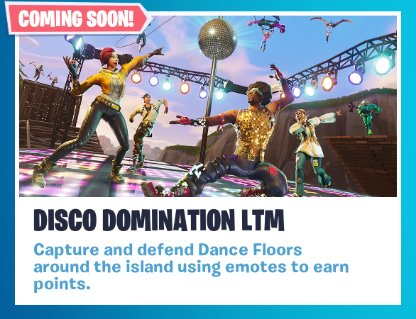 Fortnite Limited Time Mode: Disco Domination