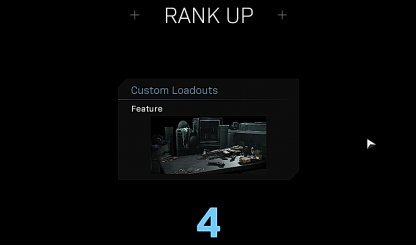 Unlock Custom Loadout At Rank 4