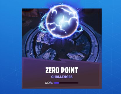 Fortnite Zero Point Challenge List