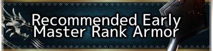 Master Rank Armor