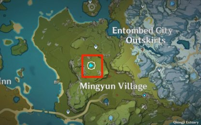 Cuihua Tree Location 6