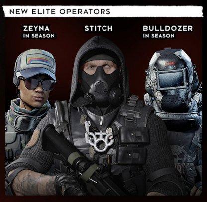 3 New Elite Operators