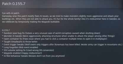 Patch Notes 0.155.7