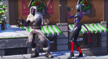 Fortnite Sgt Winter Skin Review Challenge Leveling