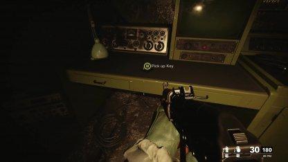Weapon Locker Key Found Near Radio