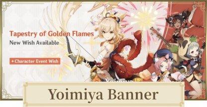 Yoimiya Sayu banner