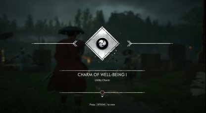 Receive Charm of Well Being I