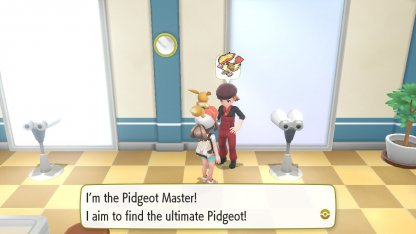 Pidgeot Master Trainer
