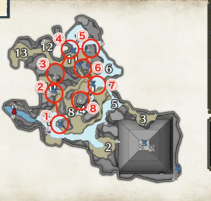 Lightcrystals - Farming Route Guide