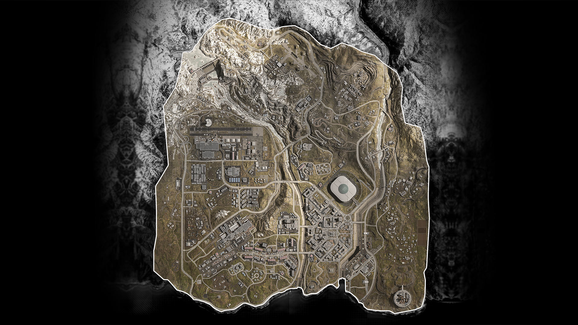 Warzone Rumble Map