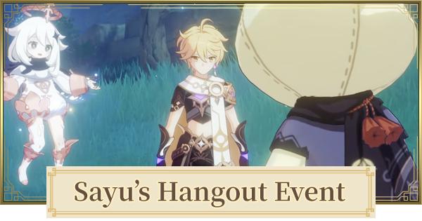 Sayu Hangout Event