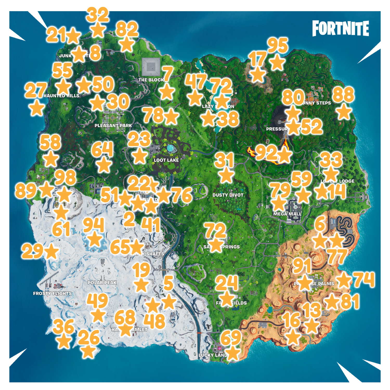 Fortnite Fortbyte 72 Found Within Salty Springs