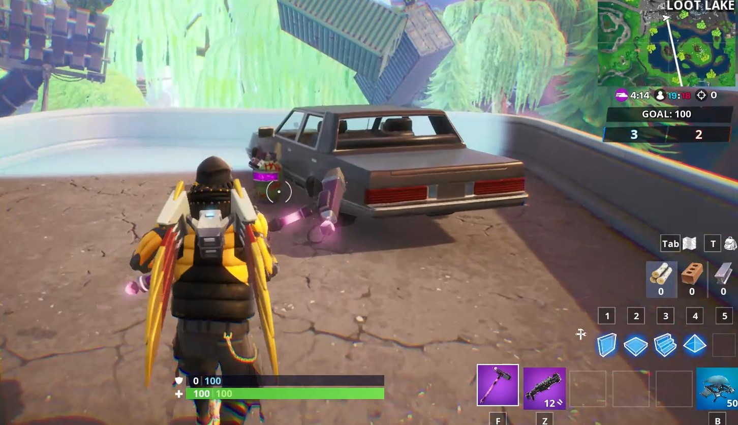 Fortnite Joker Gas Canisters Locations