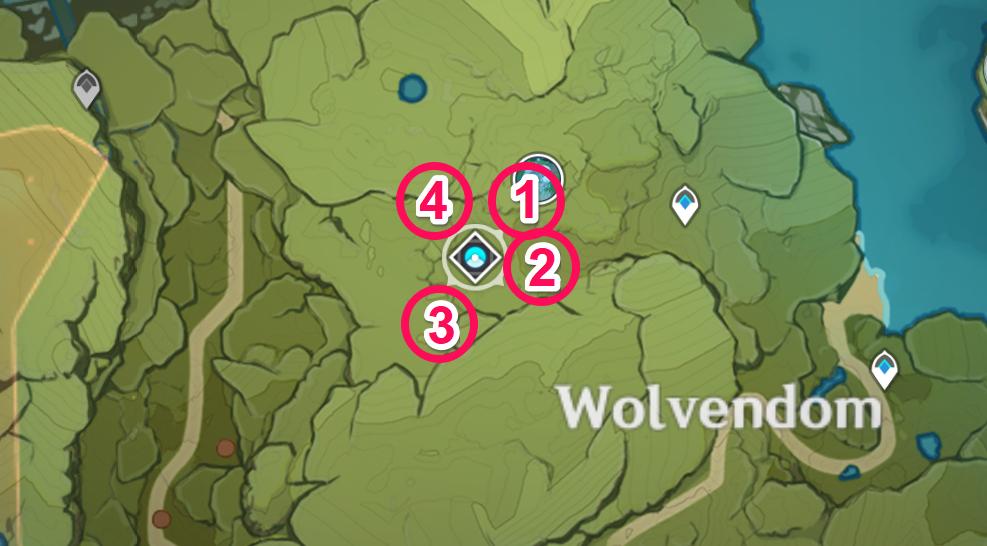 Cecilia Garden How To Unlock Puzzle Seelie Locations Genshin Impact Gamewith