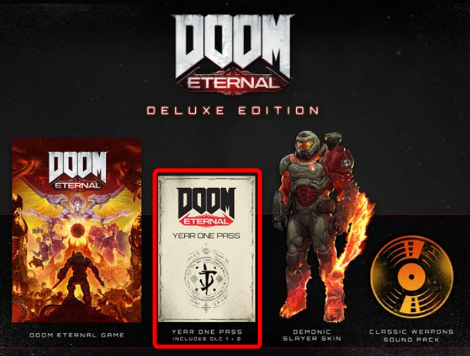 Doom Eternal Year One Pass Expansion Dlc Gamewith