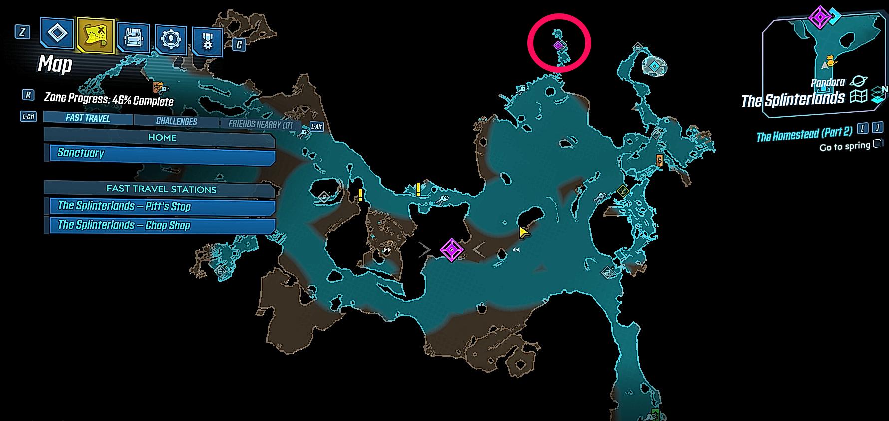 Borderlands 3 Target Of Opportunity Challenge Location