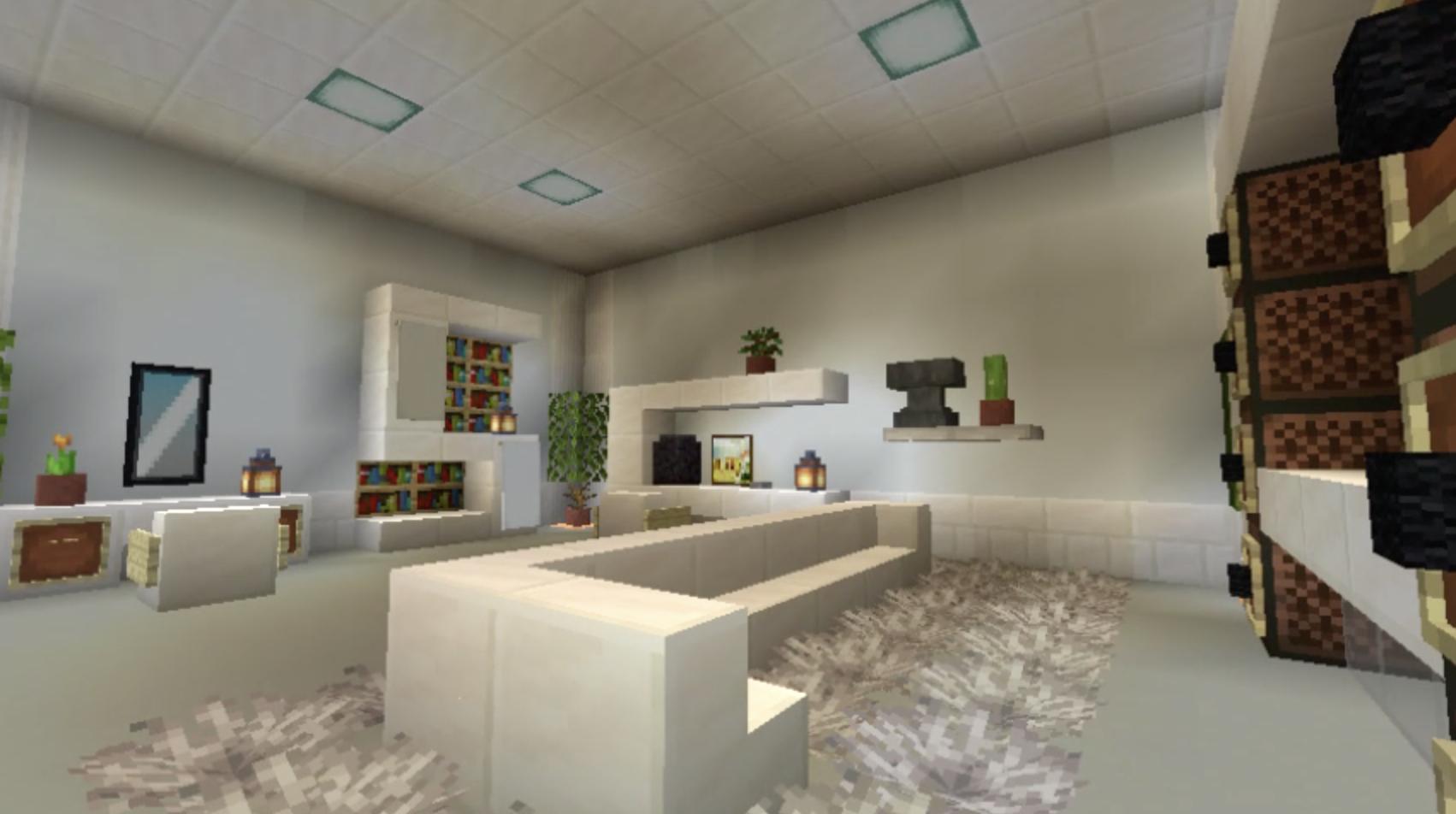 Modern Living Room Almond Goo   Blueprint & How To Build ...